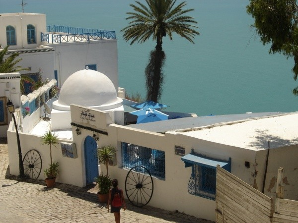 Vacances en Tunisie ( Sidi Bou Said).